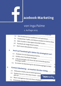 Cover Facebook Marketing Inga Palme | TK Media