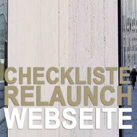 Checkliste: Relaunch Internetauftritt