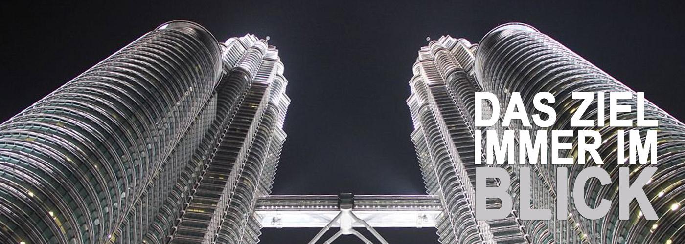 Petrona Towers in Kuala Lumpur, Malaysia