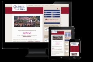Referenz Webseiten - Cadenza Tours