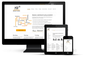 Webseiten | Referenz mh³ beratung