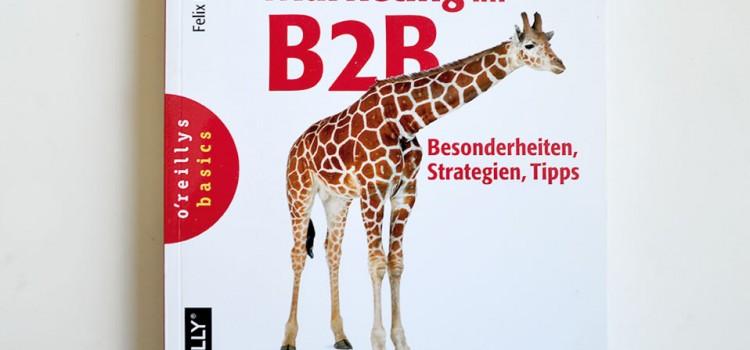 Social Media Marketing B2B – ein tolles Buch von meinem Kollegen Felix Beilharz